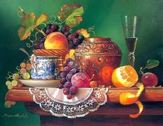 Still Life with Fruit (336 pieces)