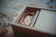 Wedding photography packaging - handmade oak presentation box made by www.factorytwentyone.co.uk   www.nicolakirkphotography.com