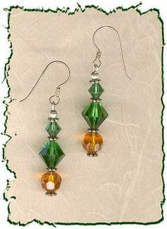 Unique Beaded Earrings by Nancies Fancies