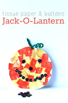 Easy halloween craft for preschool from - no time for flash cards