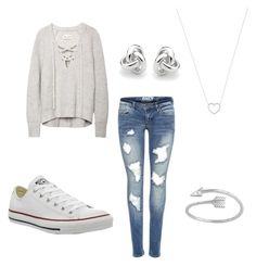 """Rainy day at the mall"" by blainerivert ❤ liked on Polyvore featuring Converse, Tiffany & Co., Midsummer Star and Georgini"