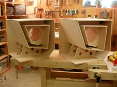Speakers (Bill Fitzmaurice designs)