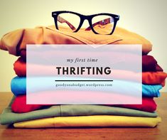 My First Time Thrifting with Muckle Thrift Work Looks, Piece Of Clothing, I Fall In Love, First Time, Really Cool Stuff, Thrifting, Sunglasses Case, Budget, Fashion