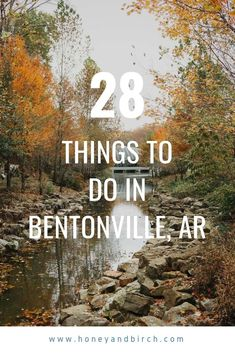 Bentonville is an amazing city in Northwest Arkansas. Take a trip there and discover all that Bentonville has to offer - great restaurants, amazing museums, and fun activities. The Places Youll Go, Great Places, Places To See, Arkansas Vacations, Bentonville Arkansas, Fayetteville Arkansas, Stuff To Do, Things To Do, Eureka Springs