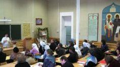 Источник: www.tvernews.ru 22 октября в актовом зале школы состоялась церемония Торжественного открытия проекта-победителя Международного грантового конкурса Православная инициатива 2016-2017 –