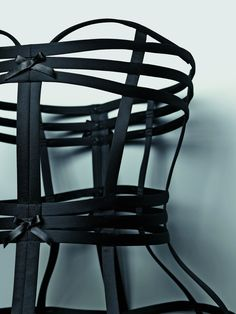 Cage Bustier by La Perla. I want to wear this over a plain white tank with dark blue jeans.