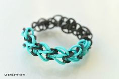 squared single ... 8 Easy Bracelets for Rainbow Loom Beginners