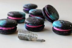 How to make the Luminous Galaxy French Macaron