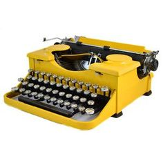 1930 Royal portable standard typewriter.