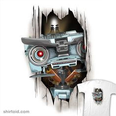 Here's Johnny! - by inkone Available for from ShirtPunch for 24 hours only. Here Comes Johnny, Here's Johnny, Geek Shirts, Silhouette Files, Great T Shirts, Tshirt Colors, Wardrobe Staples, Classic T Shirts, Geek Stuff