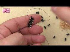 Herringbone Stitch Spiral , Dönen Sosis Herringbone Spiral Dikiş ( burgu kordon yapımı) kolye - YouTube
