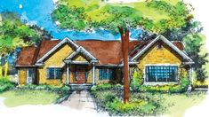 Eplans Prairie House Plan - Four Bedroom - 3213 Square Feet and 4 Bedrooms(s) from Eplans - House Plan Code HWEPL74597
