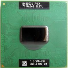 Intel SL89U 1.5GHz Pentium M Mobile CPU - Socket 479 715A by Intel. $54.76. The purchase is for qty 1 and Item may have been removed from original packaging for verification & diagnostic purpose, We only ship to the lower 48 states, we do not ship to AK, PR & HI. We do not ship to PO BOX either!!!