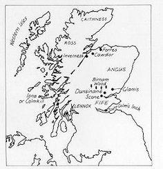 005 Macbeth Map of Scotland Infographics Pinterest