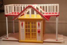 Vintage 1982 Barbie Dream Cottage Doll House Mattel Over 3 Feet Long 2 Floors | eBay