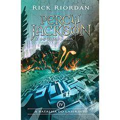 Livro - A Batalha do Labirinto - Coleção Percy Jackson e os Olimpianos - Vol. 4