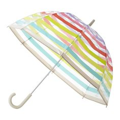 Remain stylish in wet weather with this luxurious umbrella from kate spade new york. This beautiful domed shape has a see through finish with an indulgent pattern, perfect for keeping dry in any occas