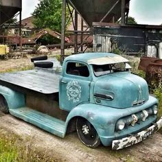 """1950s Ford cabover coe"