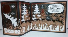 Two More for Santa's Sleigh Ride! by Chatterbox-1 - Cards and Paper Crafts at Splitcoaststampers
