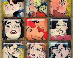 Hey, I found this really awesome Etsy listing at https://www.etsy.com/listing/151414449/digital-1-kiss-cry-retro-romance-comix