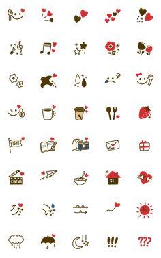 Cute Small Drawings, Mini Drawings, Kawaii Drawings, Kawaii Doodles, Cute Doodles, Doodle Icon, Doodle Art, Griffonnages Kawaii, Cute Tiny Tattoos