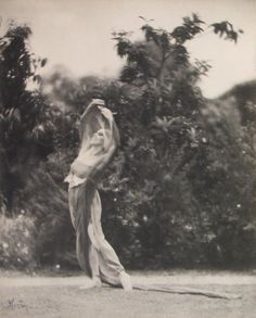 Edward Weston, Portrait of Katherine Edson in Motion, c. 1915, Photograph