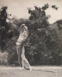 Edward Weston, Portrait of Katherine Edson in Motion, c. 1915, Photograph
