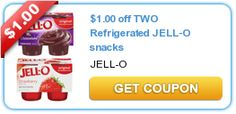 New Jell-O coupon! Use at Target, get it for $.49!