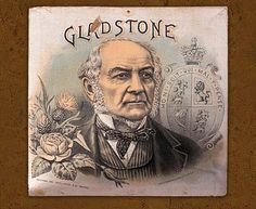 Advertisement featuring William E. Gladstone