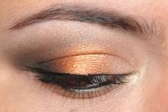 My favorite orange and melon shadows.