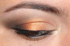 My favorite orange and melon shadows.