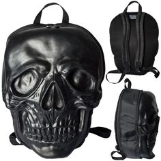 Giant Skull backpack from Kreepsville666, I so want this!! - womens leather purses, white leather purse, nice purses *ad