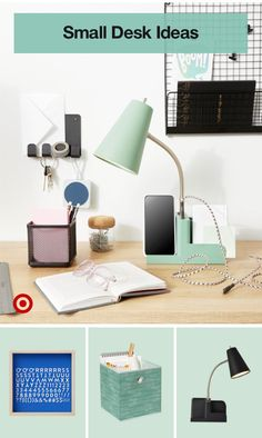 Meet the must-have lamp that keeps your pens & papers organized, phone charged & workspace awake.