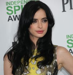 Krysten Ritter in Versace dress at the 2014 Film Independent Spirit Awards held at Santa Monica Beach in Los Angeles, California, on March 1, 2014