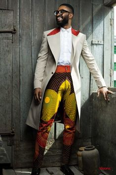 afrikanischer stil Ric Hassani Is (Really) The African Gentleman African Inspired Fashion, African Print Fashion, Africa Fashion, African Attire, African Wear, Tribal African, African Style, Suit Fashion, Mens Fashion