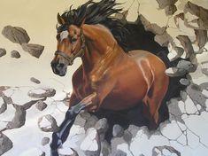 Jennifer Bell.  Murals and Trompe L'Oeil