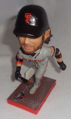 f93581a514b 2015 San Francisco Giants 2014 Postseason Heros Brandon Crawford Bobblehead  #sfgiants #SanFranciscoGiants