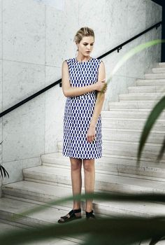 Dyyk dress - Marimekko Fashion - summer 2015