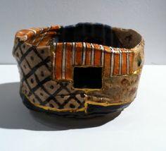 Goro Suzuki's wonderful tea bowls at Gallery Gen.