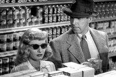 Best Film Noir, Dashiell Hammett, Gloria Grahame, Double Indemnity, John Huston, Billy Wilder, Raymond Chandler, Ensemble Cast, Barbara Stanwyck