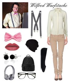 """""""Wilfred Warfstache"""" by skylarkyoutuber ❤ liked on Polyvore featuring Darling, River Island, Beats by Dr. Dre, UGG Australia and Bling Jewelry"""