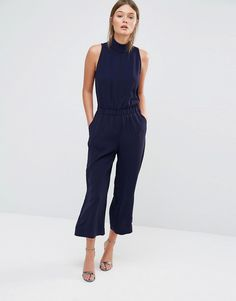 Image 1 ofTed Baker Gwendie Jumpsuit with High Neck