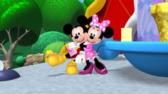 """Mickey Mouse Clubhouse - Playhouse Disney - """"Oh Toodles!"""" Clubhouse Story ● A Surprise For Minnie ●"""