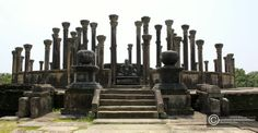 the Medirigiriya Vatadage is a beautiful architectural structure which houses the stupa and the pillars. it is believed that there was a roof structure during that era
