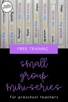 A series all about Preschool Small Group! Learn the why, how, what and top tips to organize your pre-k small groups. Preschool Colors, Preschool Centers, Preschool Learning Activities, Preschool Classroom, Play Based Learning, Learning Centers, Grouping Students, Small Group Activities, List Of Skills