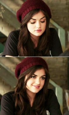 "The exact moment when she gave us all extreme beanie goals: | 31 Times Aria From ""Pretty Little Liars"" Gave Us Fashion Goals"
