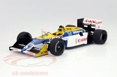 Williams FW11B, World Champion F1 1987 GP Japan 1987, No.6, Nelson Piquet, Canon Williams Honda F1 Team. Spark, 1/18. Price (2016): 150 EUR.