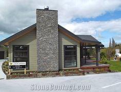masonary cladding new zealand - Google Search House Cladding, New Zealand, Garage Doors, Cabin, Google Search, House Styles, Outdoor Decor, Home Decor, Decoration Home