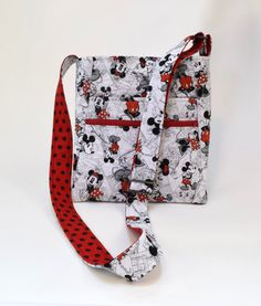Disney Quilted Cross Body Messenger by TwistedThreadsQuilts, $32.00