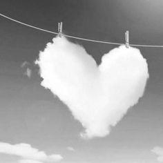 *** Un corazón blanco como a mi me gusta !!!!